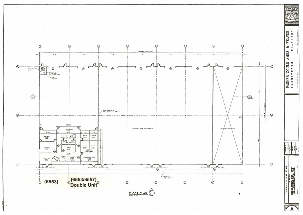 Midgley construction inc for Warehouse house plans